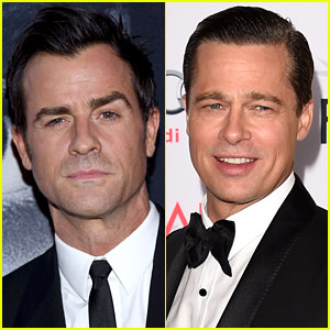 Justin Theroux Clarifies He Wasn't Shading Brad Pitt in Instagram Photo