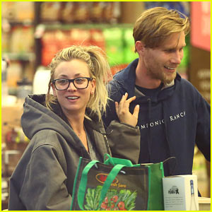 Kaley Cuoco & Boyfriend Karl Cook Step Out for Whole Foods Date!