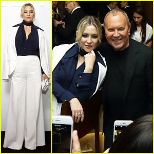 Kate Hudson & Michael Kors Toast To Opening Of Mandarin Gallery Flagship Opening!