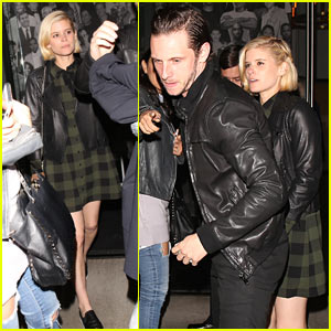 Kate Mara & Jamie Bell Enjoy Date Night in WeHo
