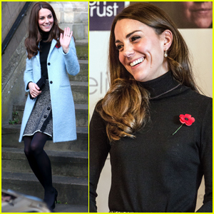 Kate Middleton Meets With Families at Vunerable Women's Center