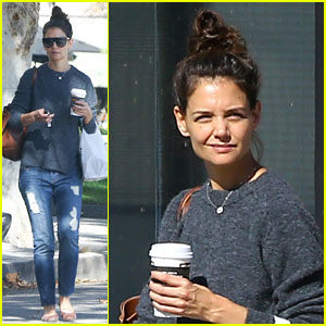 Katie Holmes Shares Her Weekend Motivation