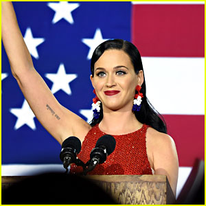 VIDEO: Katy Perry Says Her Parents Voted for Donald Trump