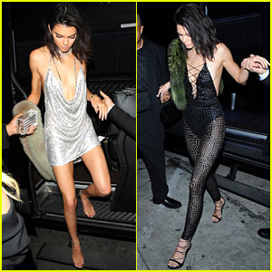 Kendall Jenner & Family Step Out for Her 21st Birthday Party!