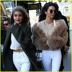 Kendall Jenner & Gigi Hadid Prep for Victoria's Secret Fashion Show!