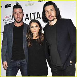 Keri Russell & Pablo Schreiber Join Adam Driver On Stage At Arts in the Armed Forces Broadway Performance!