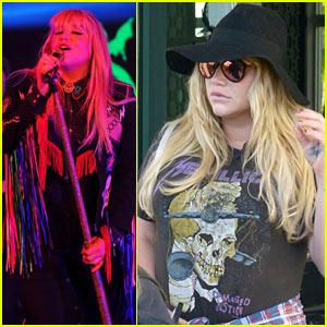 Kesha Rocks the Stage at Best Buddies Miami Gala!