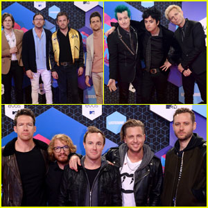Kings of Leon, Green Day, & OneRepublic Hit MTV EMAs 2016