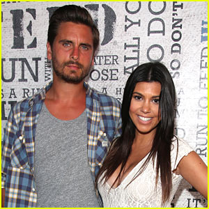 Kourtney Kardashian & Scott Disick Will Spend Thanksgiving 'Together as a Family' - Report