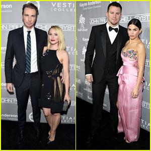 Kristen Bell & Dax Shepard Join Channing Tatum & Jenna Dewan Tatum at Baby2Baby Gala!