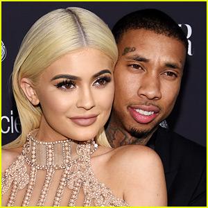 Kylie Jenner Celebrates Tyga's Birthday By Straddling Him Topless