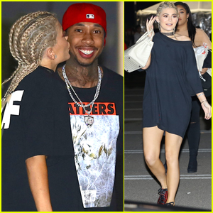 Kylie Jenner & Tyga Couple Up at Kanye West Concert in LA