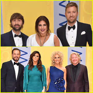 Lady Antebellum & Little Big Town Show Off Their Style at CMA Awards 2016!