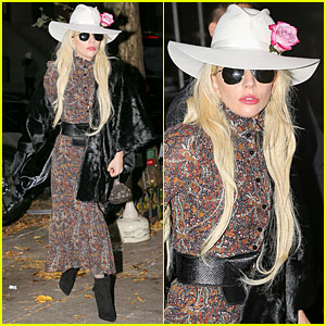 Lady Gaga Feasts at Joanne Trattoria for Thanksgiving Dinner