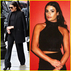 Lea Michele Teases Second Album: 'Big Meetings Today in the Big Apple'
