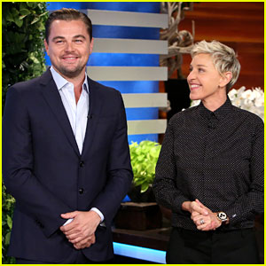 Leonardo DiCaprio Surprises Ellen's Audience to Talk About His Documentary