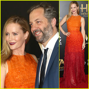 Leslie Mann & Judd Apatow Arrive for Hollywood Film Awards 2016