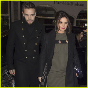 Cheryl Cole Shows Off Baby Bump While Out With Liam Payne