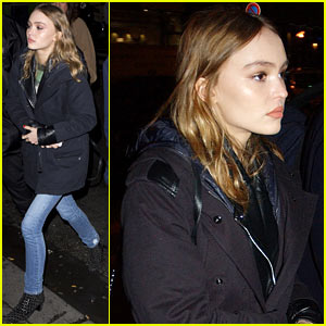 Lily-Rose Depp Always Carries a Weapon Around!