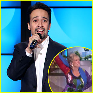 VIDEO: Watch Lin-Manuel Miranda Freestyle Rap About This Dancing Woman!