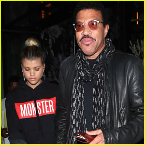 Sofia & Lionel Richie Grab Dinner in West Hollywood!
