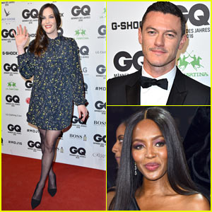 Luke Evans & Bill Murray Cuddle Up at the GQ Awards!