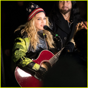 Madonna Gives Surprise Concert in Support of Hillary Clinton