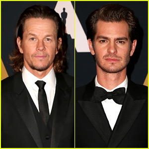 Mark Wahlberg & Andrew Garfield Are Hot Hollywood Hunks at Governors Awards 2016!