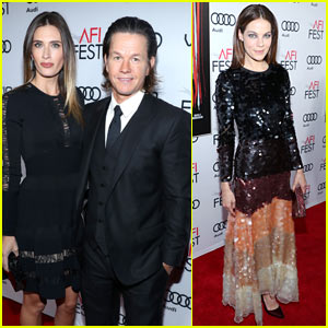 Mark Wahlberg & Michelle Monaghan Attend the 'Patriots Day' Premiere