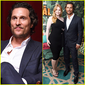 Matthew McConaughey & Bryce Dallas Howard Team Up To Celebrate 'Gold'!