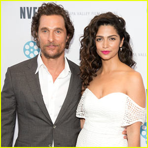 Matthew McConaughey is Honored at Napa Valley Film Festival