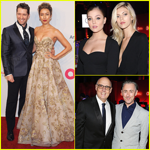Matthew Morrison, Victoria's Secret Models & More Show Support At Elton John AIDS Foundation Benefit 2016!