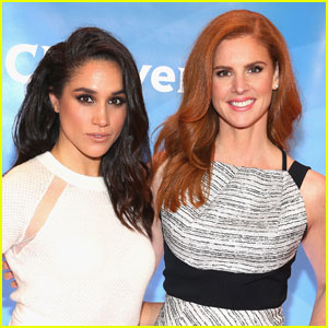 Meghan Markle's 'Suits' Co-Star Sarah Rafferty Comments on Prince Harry Relationship