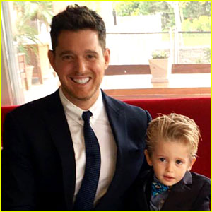 Michael Buble's 3-Year-Old Son Noah Diagnosed with Cancer