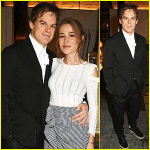 Michael C. Hall Gets Support From Wife Morgan Macgregor At 'Lazarus' Press Night Performance!