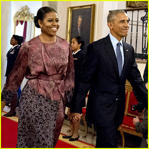 Michelle Obama Holds Hands with Barack at Presidential Medal of Freedom Ceremony!