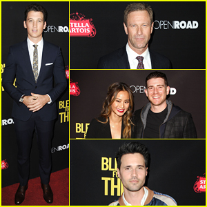Miles Teller Gets Star-Studded Support At 'Bleed For This' Premiere!