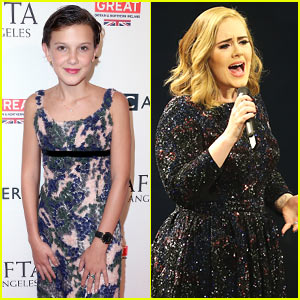 VIDEO: Millie Bobby Brown Parodies Adele While Ordering at Starbucks!
