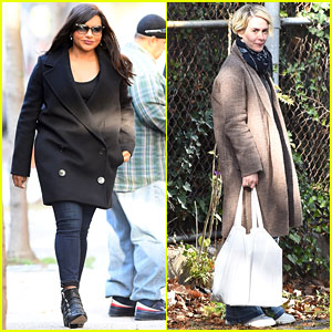 Mindy Kaling & Sarah Paulson Get to Work on 'Ocean's Eight'!