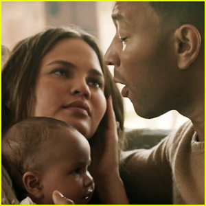 Music Video: John Legend & Chrissy Teigen Share Loving Moments With Daughter Luna In 'Love Me Now' - WATCH!