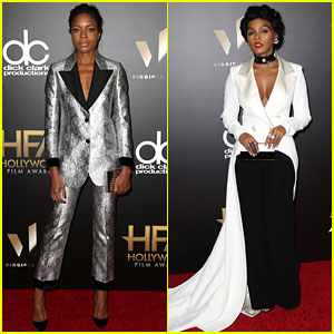 Moonlight's Naomie Harris & Janelle Monae Take the Spotlight at Hollywood Film Awards 2016!