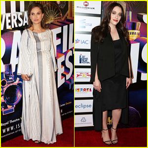 Natalie Portman & Kat Dennings Reunite At 2016 Israel Film Fest Anniversary Gala Awards Dinner!