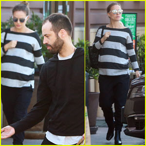 Natalie Portman Steps Out with Husband Benjamin Millepied