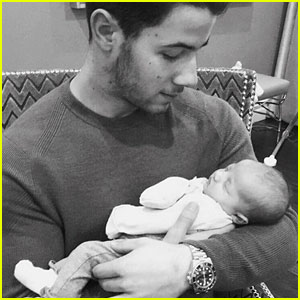 Nick Jonas Meets Niece Valentina: 'I'm In Love'