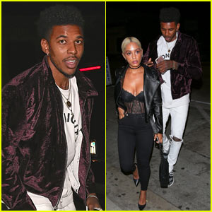 Nick Young & Girlfriend Paloma Ford Grab Dinner in WeHo