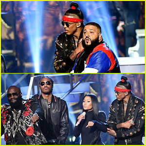VIDEO: Nicki Minaj Joins DJ Khaled & More for AMAs 2016 Performance!
