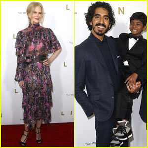 Nicole Kidman Looks Pretty in Florals at The Premiere of 'Lion' in NYC