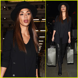 Nicole Scherzinger Enjoys Night on the Town in London