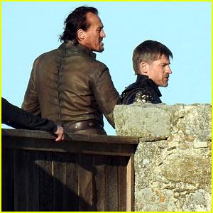 Nikolaj Coster-Waldau & Jerome Flynn Continue 'Game of Thrones' Filming in Spain!