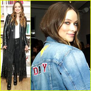 Olivia Wilde Celebrates with 'Harper's Bazaar' in New York City